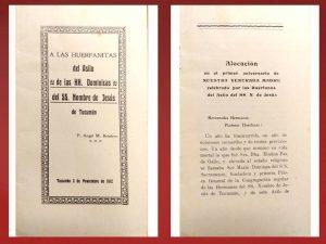 1912 - A las huerfanitas del asilo de las HH. Dominicas del SS. Nombre de Jesús (Boisdron)